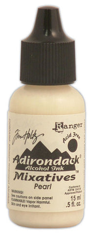 Tim Holtz Adirondack Alcohol Ink Metallic Mixative Pearl