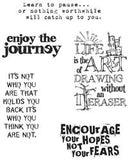 Tim Holtz Cling Rubber Stamps Just Thoughts