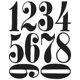 Tim Holtz Cling Rubber Stamps Numeric