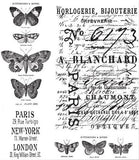 Tim Holtz Cling Rubber Stamps Papillon