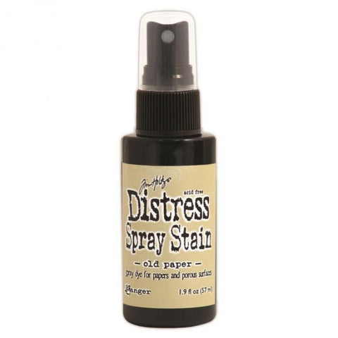 Tim Holtz Distress Spray Stain Old Paper 1.9oz