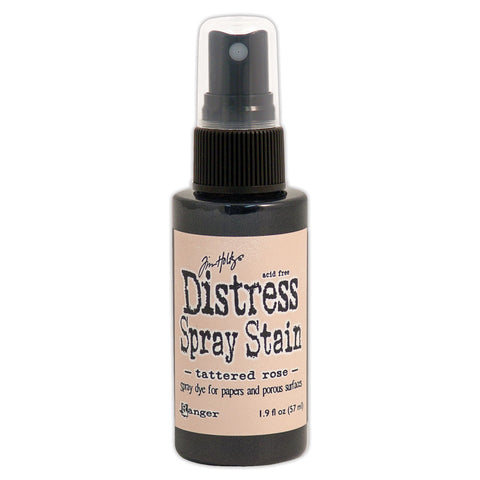 Tim Holtz Distress Spray Stain Tattered Rose 1.9oz