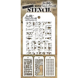 Tim Holtz Mini Layered Stencil Set #1