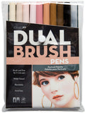 Tombow Dual Brush Pens Portrait 10pk