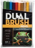 Tombow Dual Brush Pens Secondary 10pk