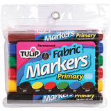 Tulip Fabric Markers Large 6pk Primary