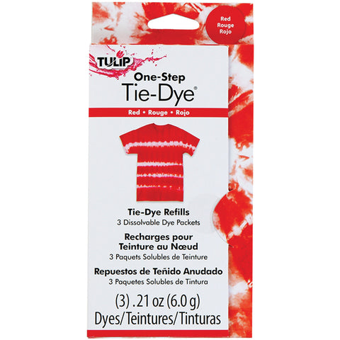Tulip OneStep Fashion Dye Refill Red