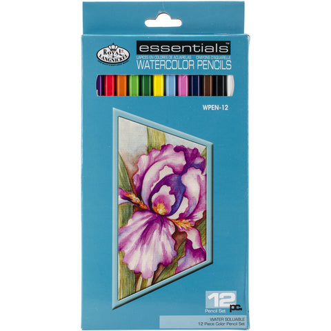 Royal Essentials Watercolor Pencils 12pk