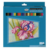 Royal Essentials Watercolor Pencils 24pk