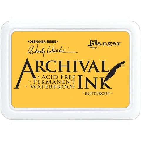 Wendy Vecchi Designer Series Archival Ink Pad Buttercup