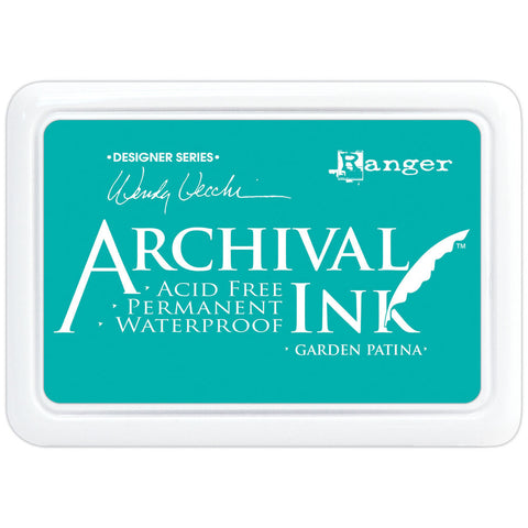 Wendy Vecchi Designer Series Archival Ink Pad Garden Patina