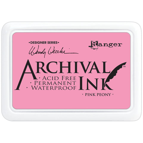 Wendy Vecchi Designer Series Archival Ink Pad - Pink Peony