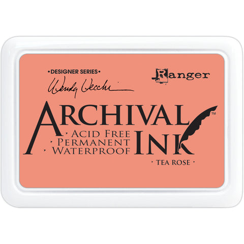 Wendy Vecchi Designer Series Archival Ink Pad Tea Rose