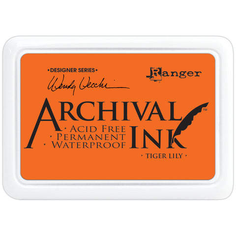 Wendy Vecchi Designer Series Archival Ink Pad - Tiger Lily