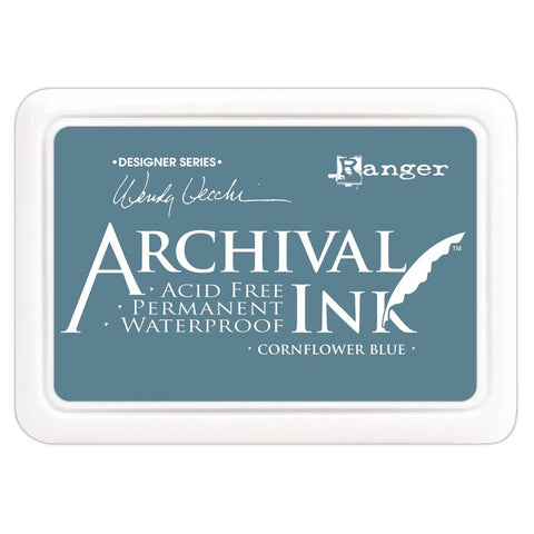 Wendy Vecchi Designer Series Archival Ink Pad Cornflower Blue
