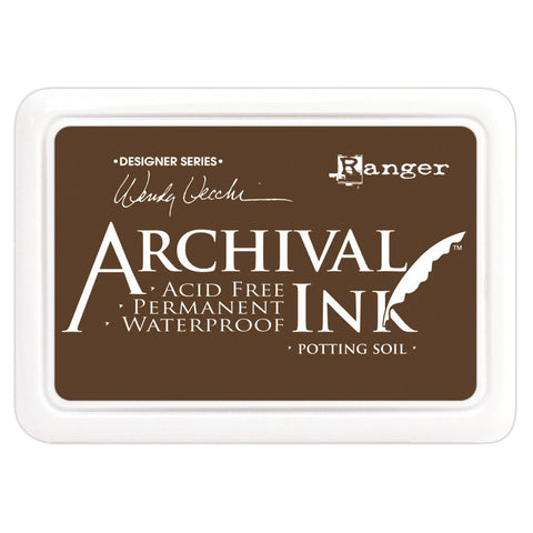 Wendy Vecchi Designer Series Archival Ink Pad Potting Soil