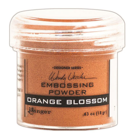 Wendy Vecchi Embossing Powders Orange Blossom