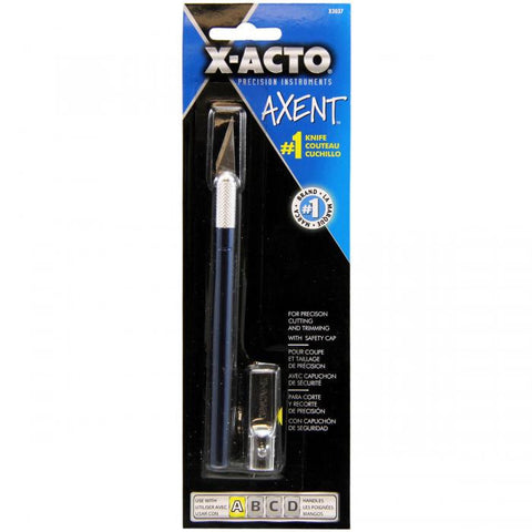 X-Acto AXENT Knife withCapBlue