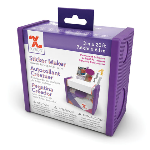 Xyron Sticker Maker 3in