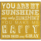 MBI You Are My Sunshine Post Bound Scrapbook 12inx12in