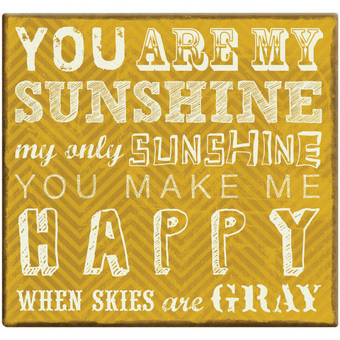 "You Are My Sunshine Post Bound Scrapbook 12""x12"""