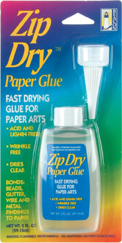 Zip Dry Paper Glue 2oz