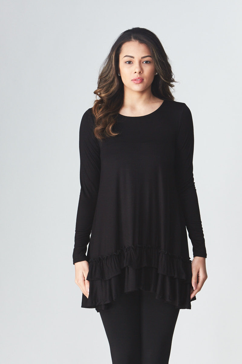 Double Ruffle Tunic - Good Row Clothing  - 24