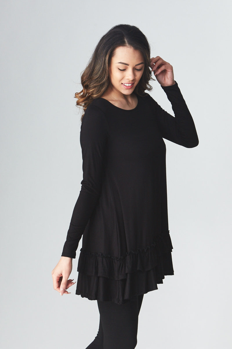 Double Ruffle Tunic - Good Row Clothing  - 22