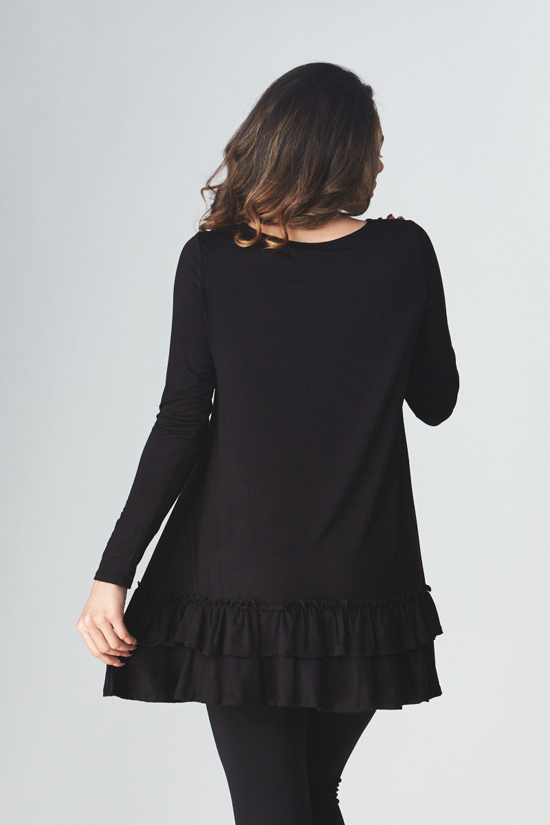 Double Ruffle Tunic - Good Row Clothing  - 25