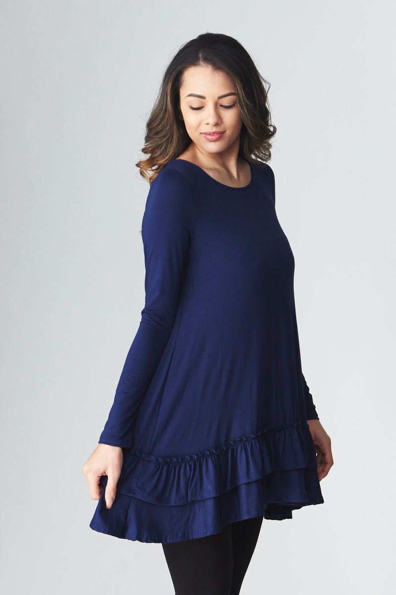 Double Ruffle Tunic - Good Row Clothing  - 12