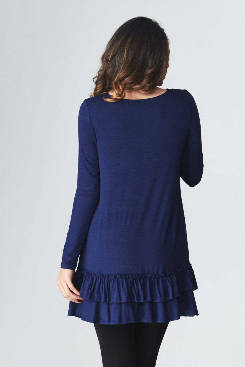 Double Ruffle Tunic - Good Row Clothing  - 15