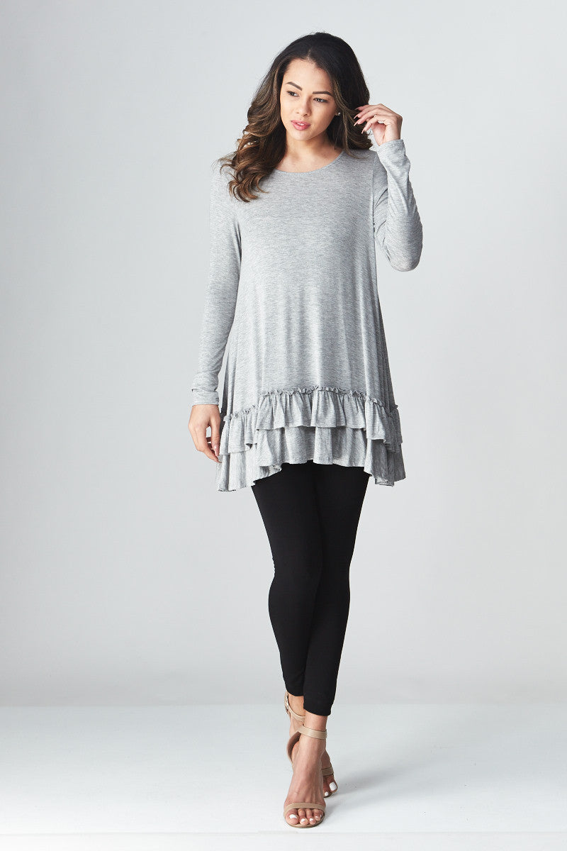 Double Ruffle Tunic - Good Row Clothing  - 9