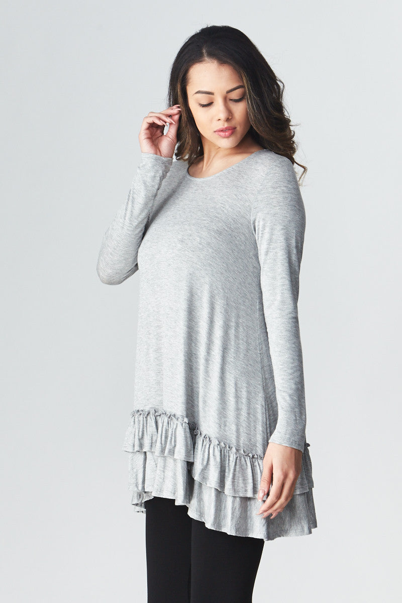 Double Ruffle Tunic - Good Row Clothing  - 8