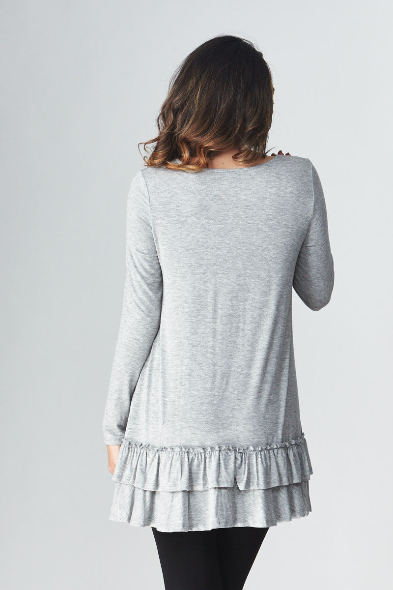 Double Ruffle Tunic - Good Row Clothing  - 10