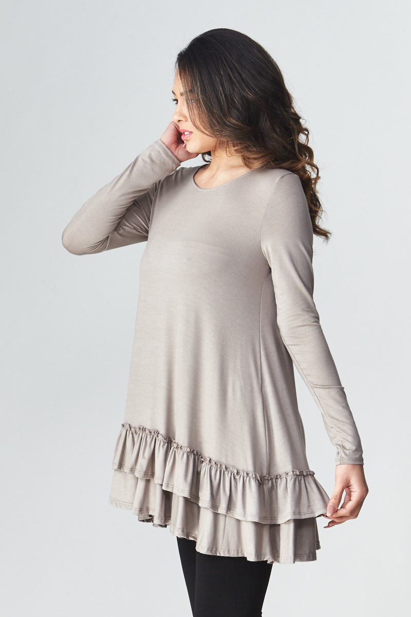 Double Ruffle Tunic - Good Row Clothing  - 3