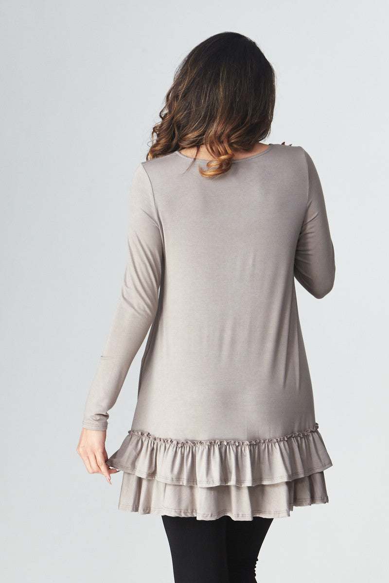 Double Ruffle Tunic - Good Row Clothing  - 4