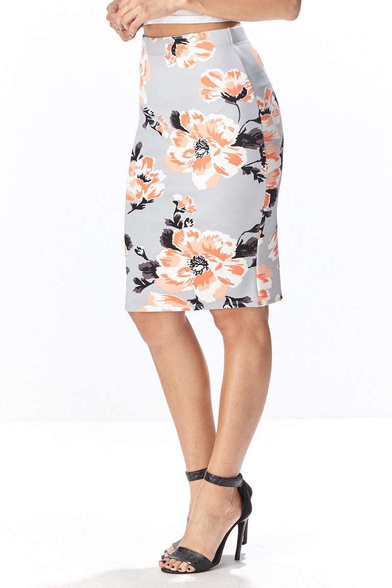Fiora Pencil Skirt - Good Row Clothing  - 3