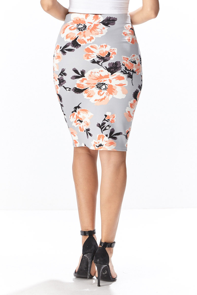 Fiora Pencil Skirt - Good Row Clothing  - 5