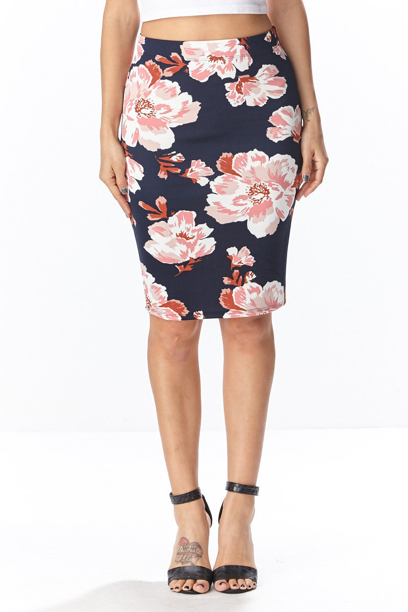 Fiora Pencil Skirt - Good Row Clothing  - 6
