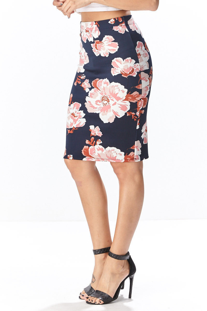 Fiora Pencil Skirt - Good Row Clothing  - 7