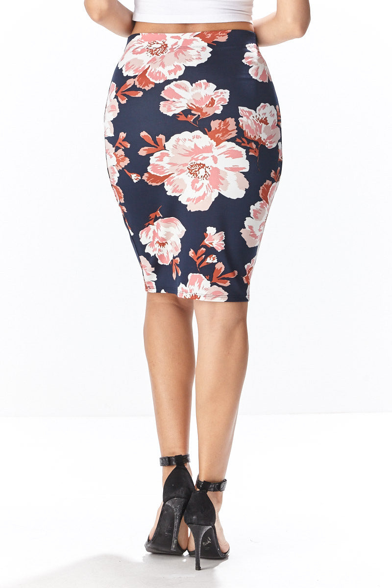 Fiora Pencil Skirt - Good Row Clothing  - 9