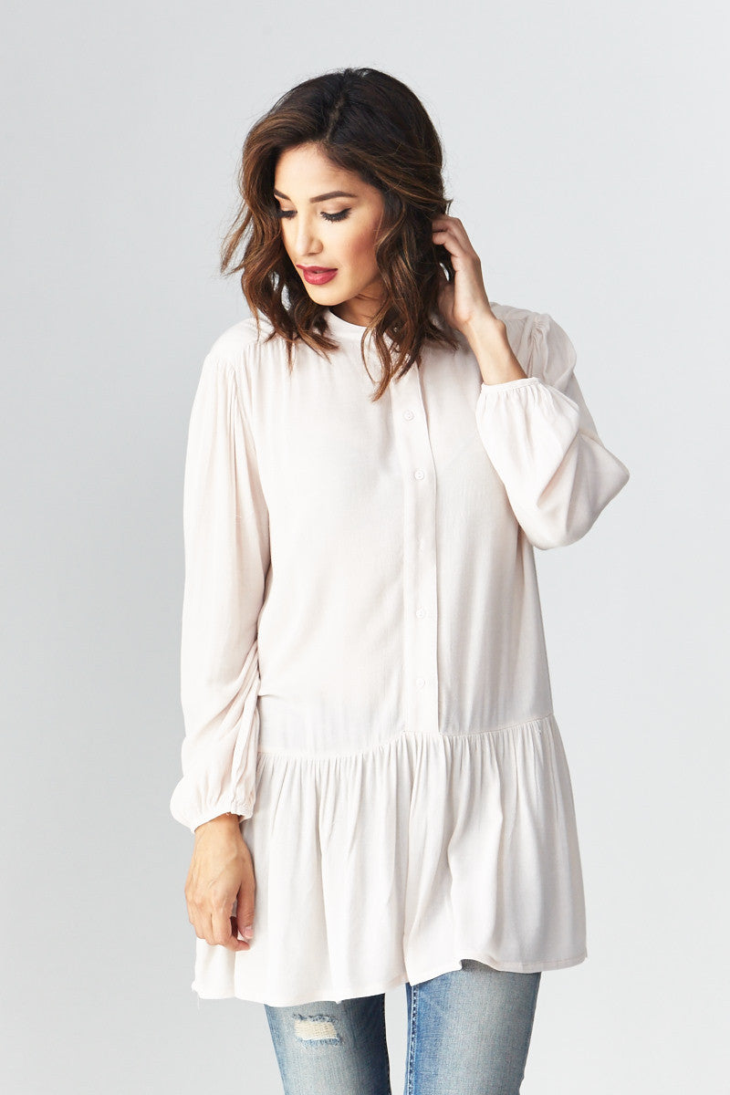 miss love: Flowing with the Peplum Tunic - Good Row Clothing  - 1