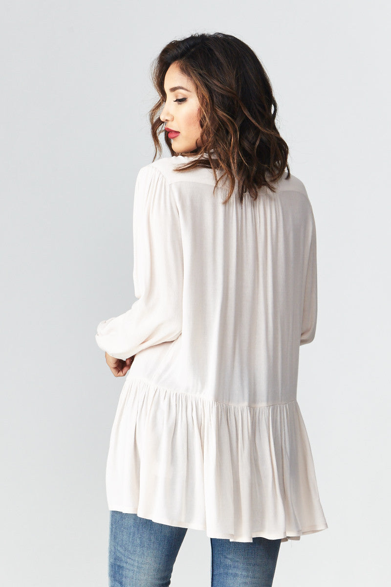 miss love: Flowing with the Peplum Tunic - Good Row Clothing  - 5