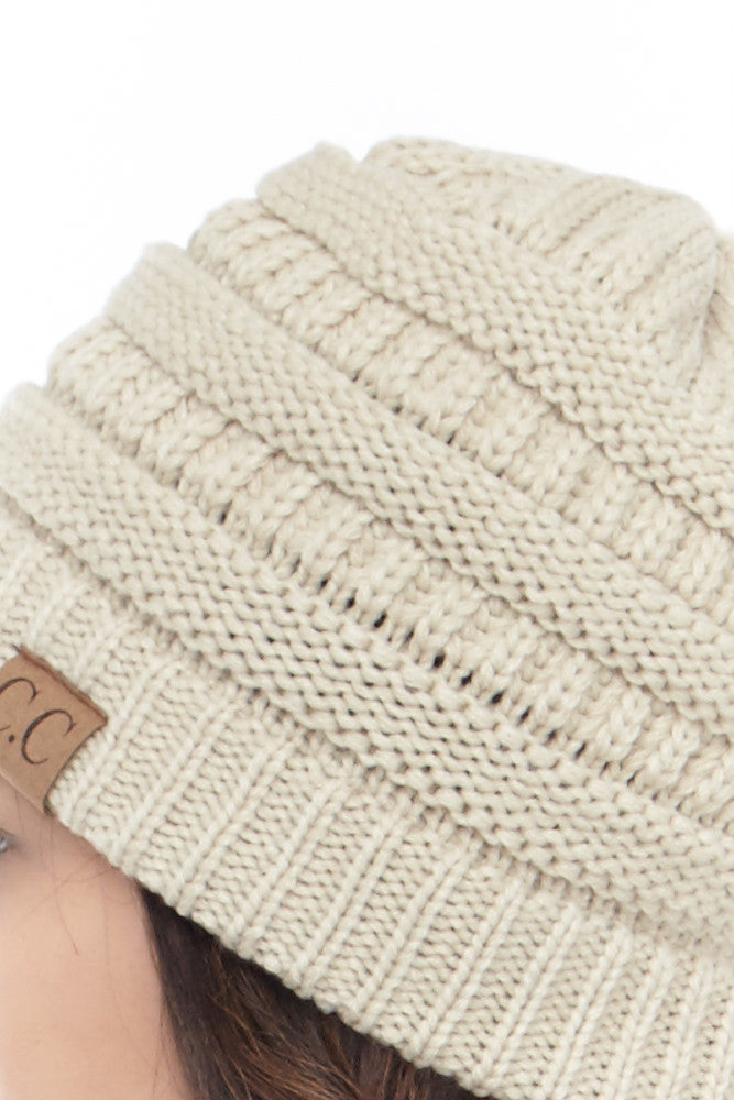 C&C: Perfect Knit Beanie - Good Row Clothing  - 7