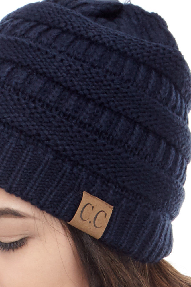 C&C: Perfect Knit Beanie - Good Row Clothing  - 11