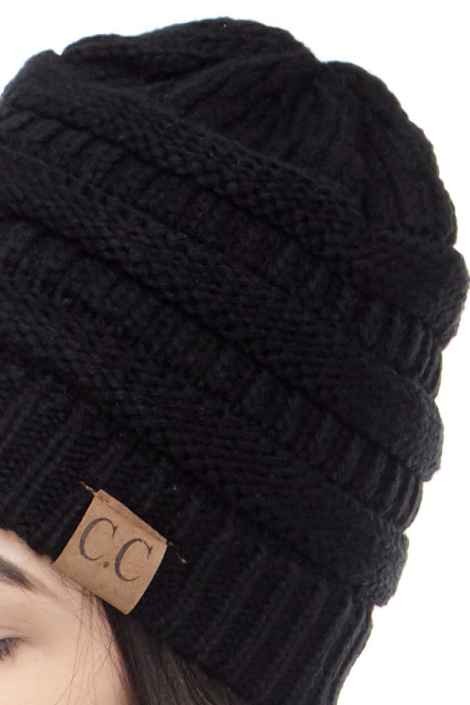 C&C: Perfect Knit Beanie - Good Row Clothing  - 26