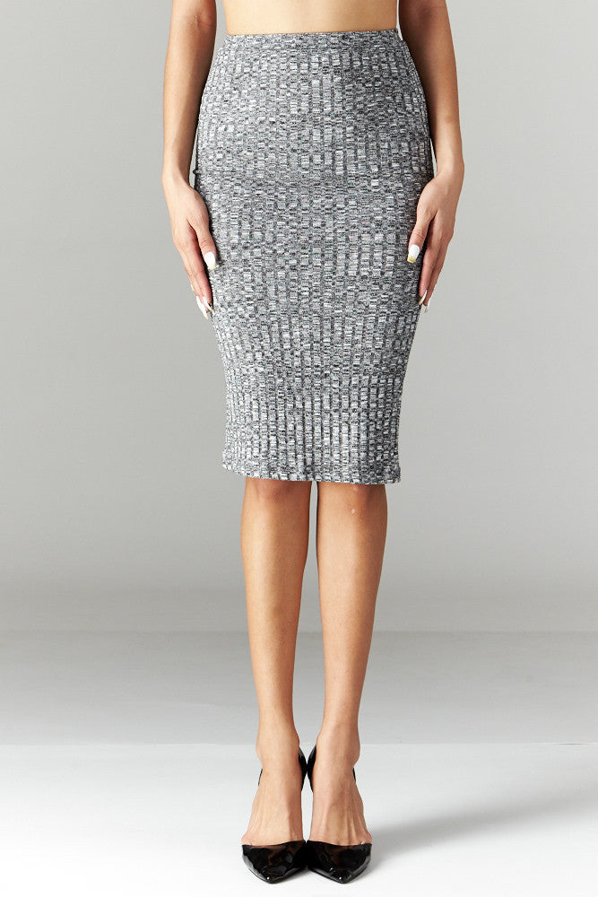 Love Tree: Simplicity is Key Pencil Skirt - Good Row Clothing  - 2