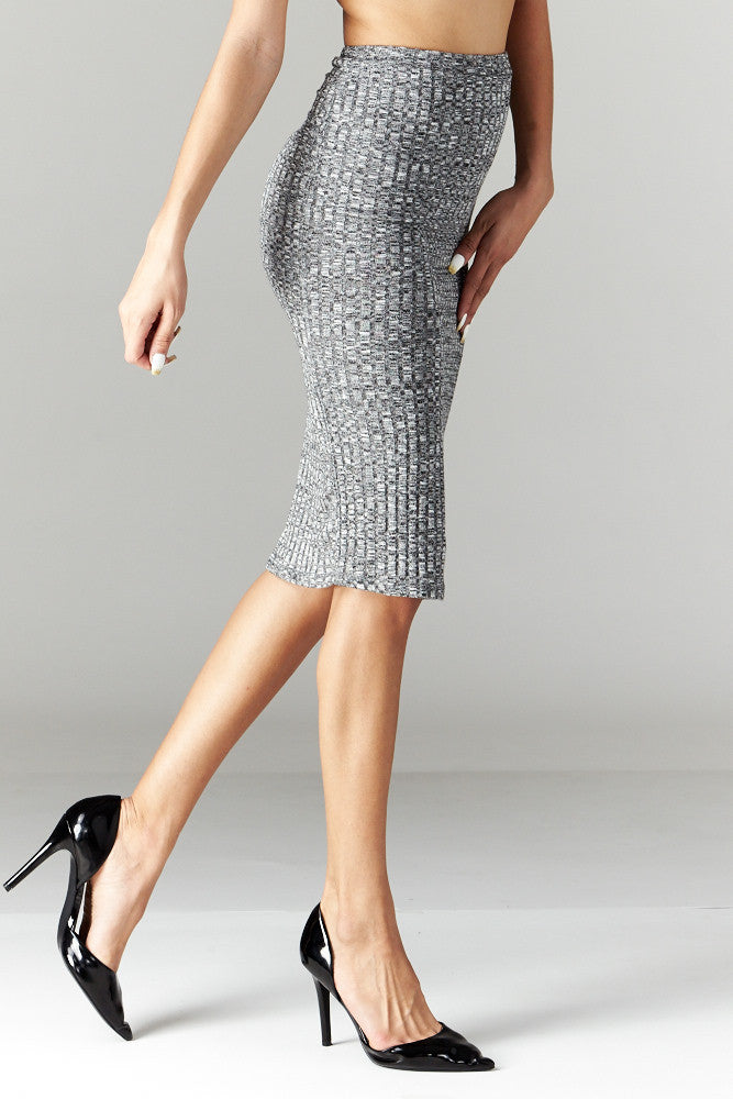 Love Tree: Simplicity is Key Pencil Skirt - Good Row Clothing  - 3