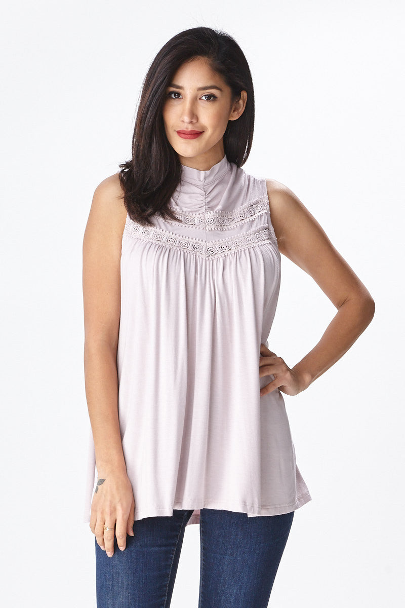 Spring Fling Lace Tank - Good Row Clothing  - 11