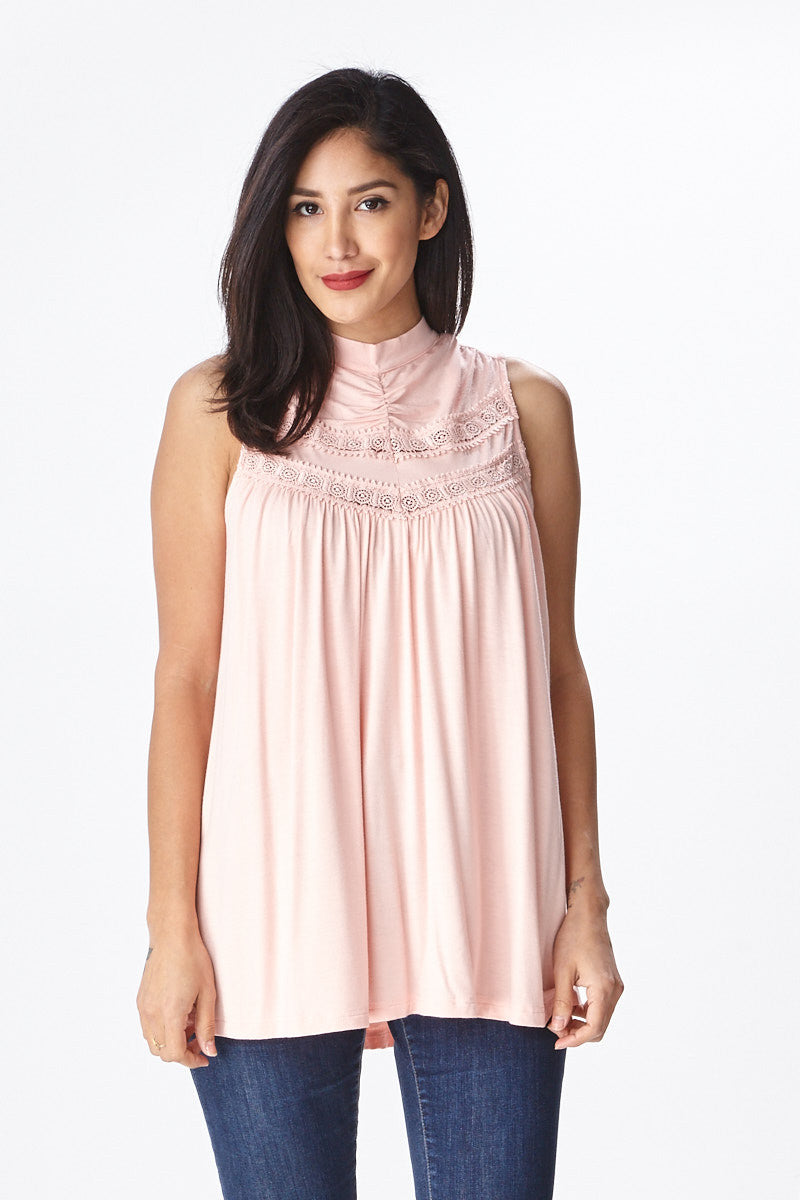 Spring Fling Lace Tank - Good Row Clothing  - 8